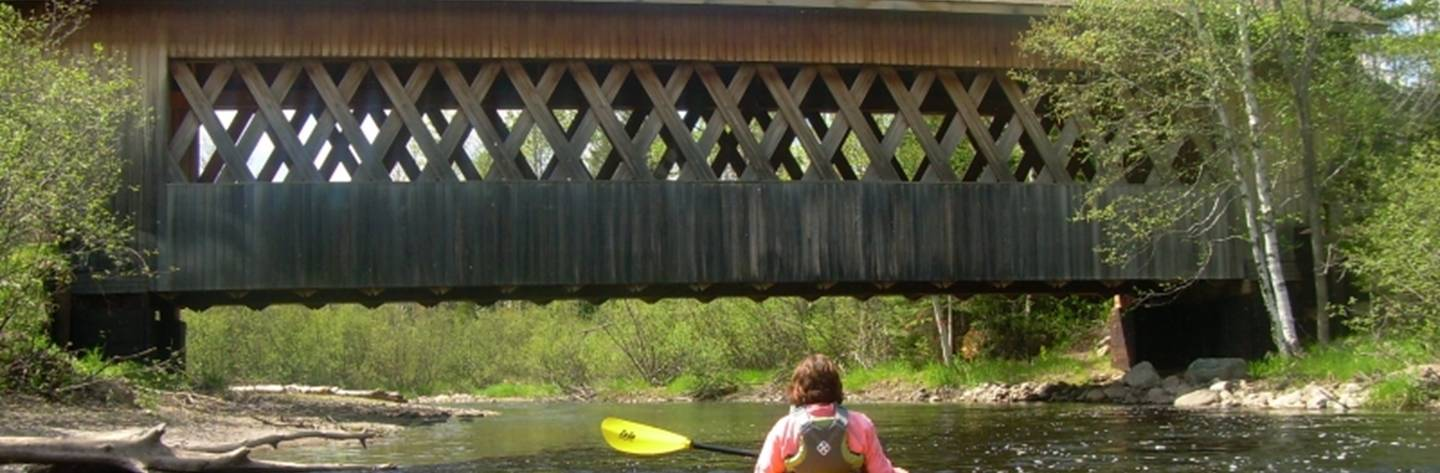 Smith Rapids Covered Bridge spans the South Fork of the Flambeau River in the heart of the Chequamegon-Nicolet national Forest