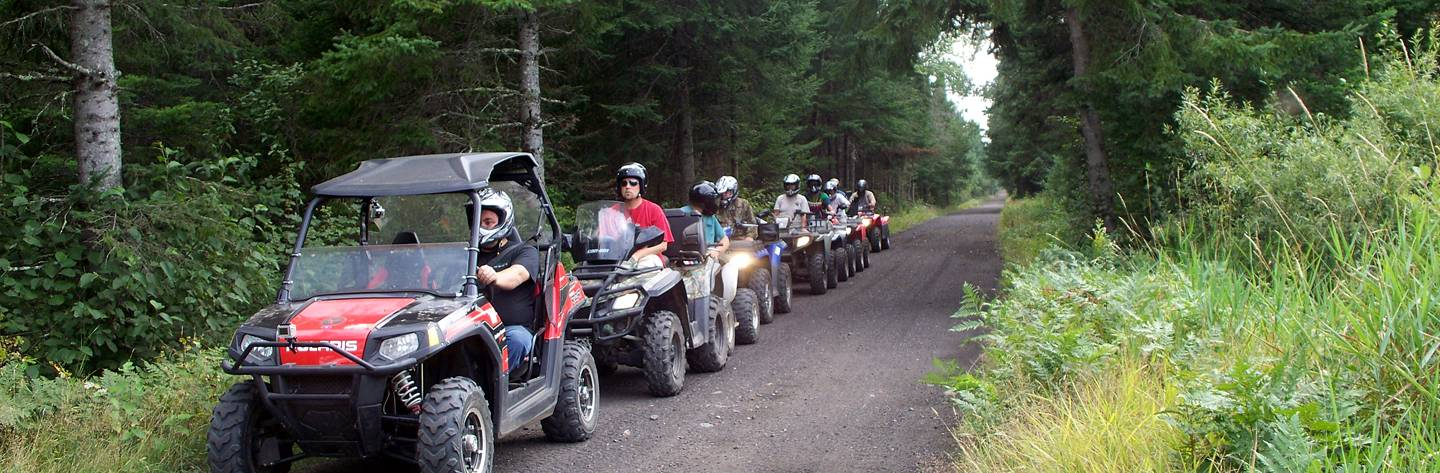 UTV and ATV the Tuscobia State Trail