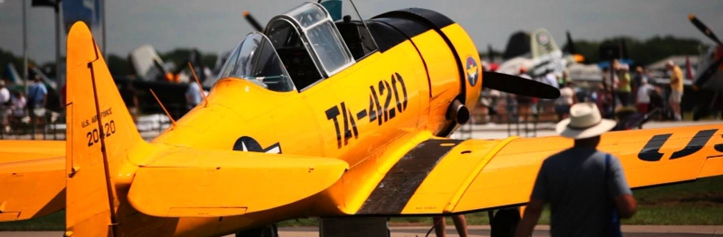 The EAA AirVenture in Oshkosh is the world's largest gathering for recreational pilots and aviation enthusiasts.