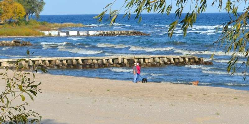 With more than 1,600 miles of coastline, Sheboygan County boasts some of the best beaches on Lake Michigan.