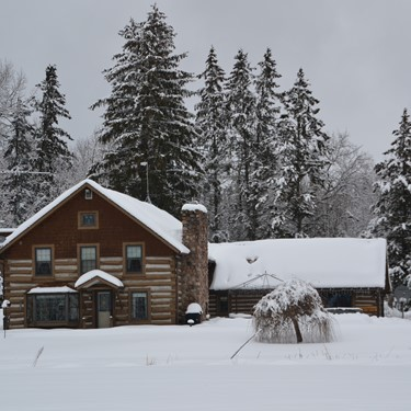 Rent a Beautiful Lodge for your Winter Get-Away