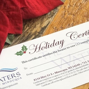 Save up to 50% with a Holiday Gift Certificate!