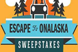 Image for Escape to Onalaska Sweepstakes