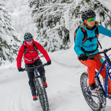 Fat Bike Enthusiasts Get More to Explore the Oak Leaf Trail