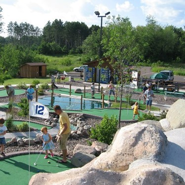 Play Adventure Golf at Moose Mulligan's