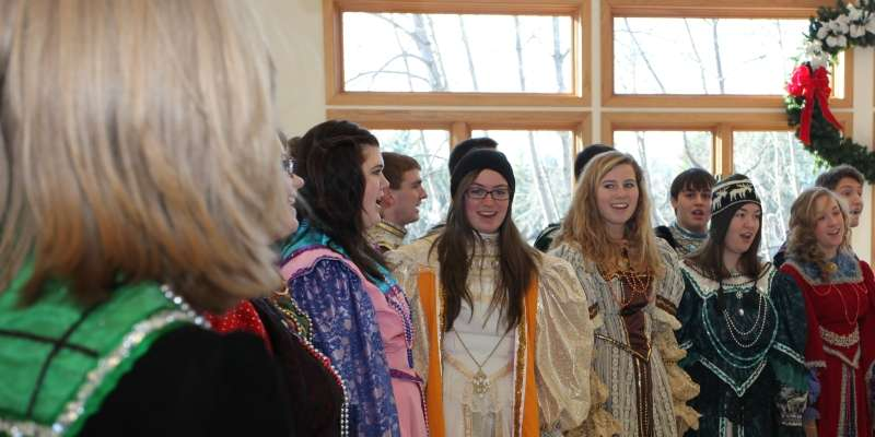Madrigal Choir from Waupaca High School