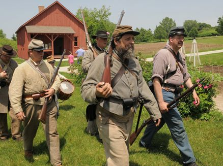 Image for Heritage Hill- Civil War Reenactment