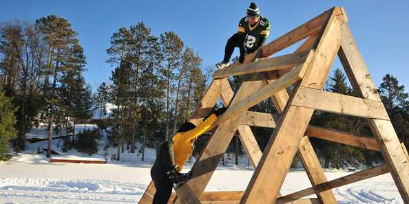 Obstacle #16: The Arctic Switchback Climb