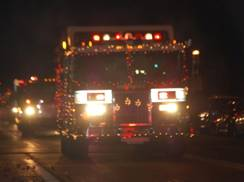 Image for Holiday Tree Lighting and Fire Truck Parade