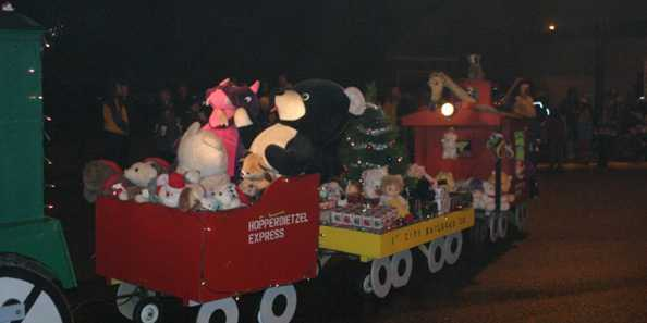 Christmas Train of Toys