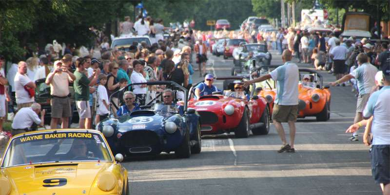 Road America's signature event and renowned Concours d' Elegance in Elkhart Lake wows race and automobile fans.