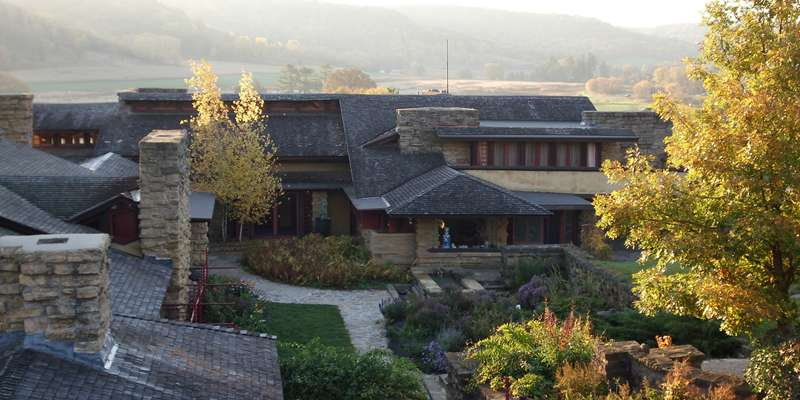 Taliesin and Courtyard