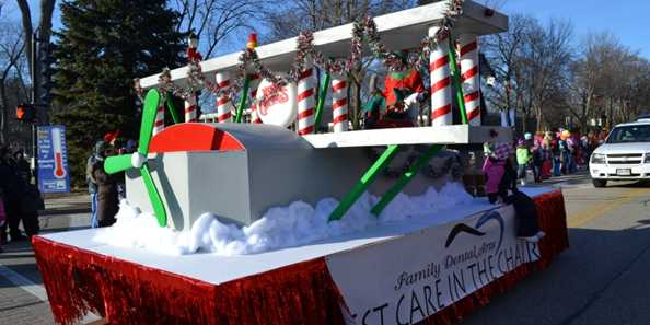 2013 Winning Float - Family Dental Arts
