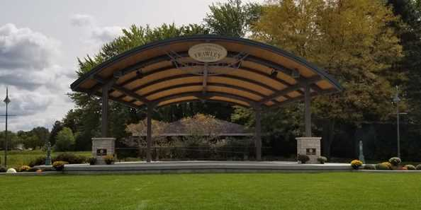 New Outdoor Amphitheater in Whitewater