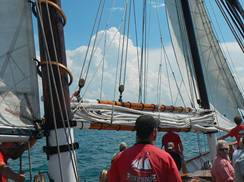 Image for Tall Ship Red Witch - Lake Michigan Sailing Excursions