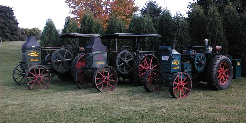 Rumely Oil Pulls owned by Aaron Schmidt