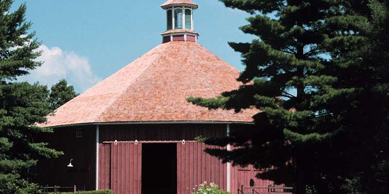 The auction will be held in Old World Wisconsin's historic Clausing Barn