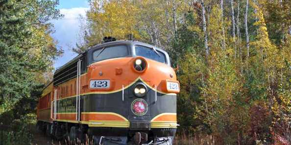 WI Great Northern Railroad Train Rides
