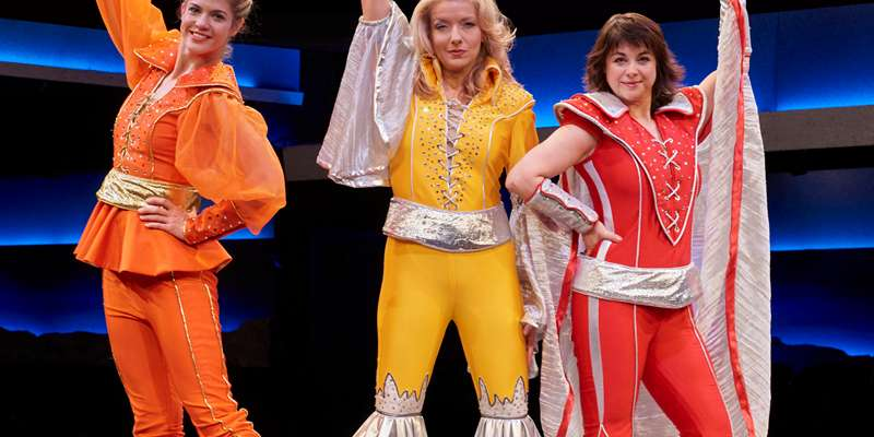 Mamma Mia at The Fireside Theatre through February 26, 2017