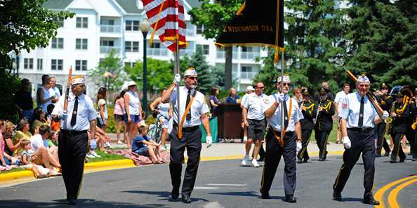 Celebrate your Independence - Elkhart Lake Style with a lakeside picnic, gala fireworks display and grand parade.