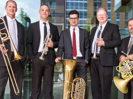 Image for Concert: Wisconsin Brass Quintet
