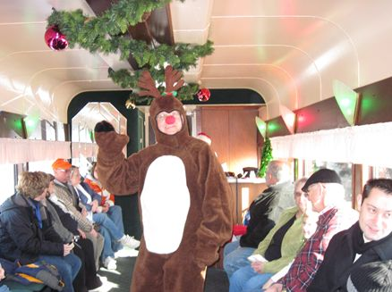 Image for East Troy Electric Railroad Christmas Express Train