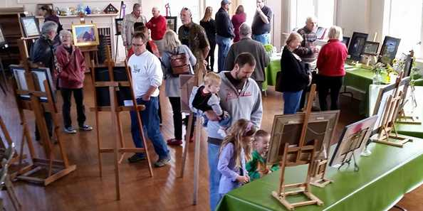 The annual Theodore Robinson Plein Air Art Exhibit attracts admirers and collectors.  The art competition focuses on the immediate Evansville area for subject matter.