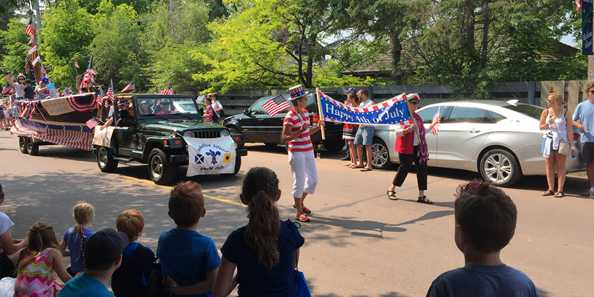 Bring the whole family to enjoy the Madeline Island 4th of July parade.