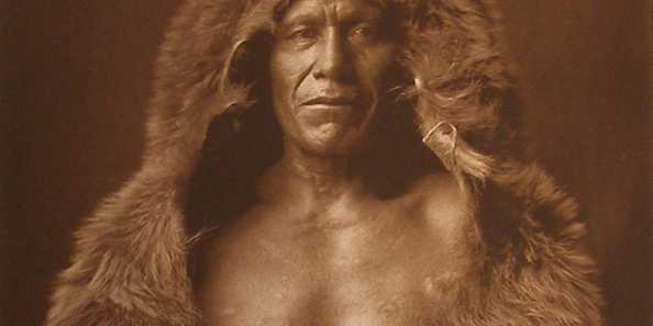 Edward S. Curtis, Bear Bull-Blackfoot, Photogravure on Dutch Van Gelder paper, 1926.