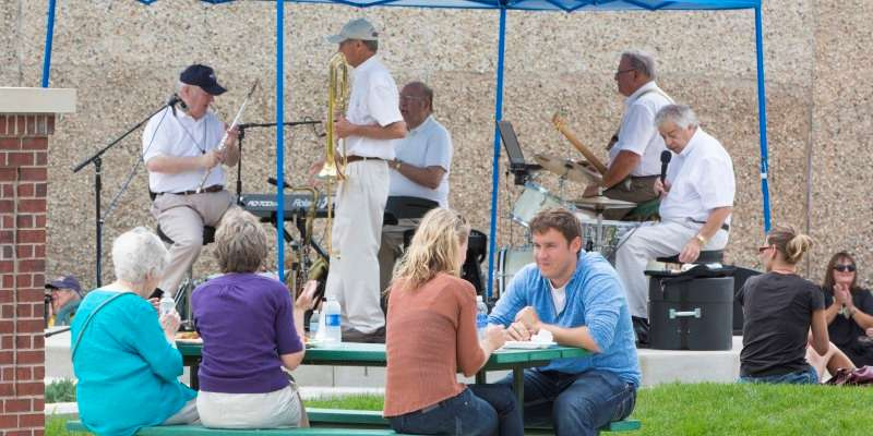 Great music at Friday's in the Park in Beloit!