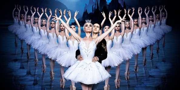Russian Ballet Theatre presents Swan Lake at the Weidner Center for the Performing Arts on October 23 at 7:30 pm.