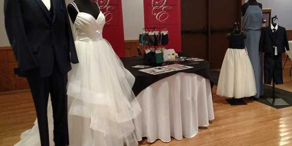 See the latest designs in bridal gowns & groom attire - and for all your attendants.