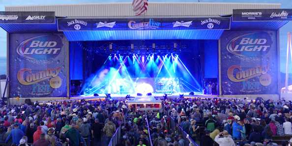 Country Fest offers the biggest and best concert venue & camping festival in the Midwest!