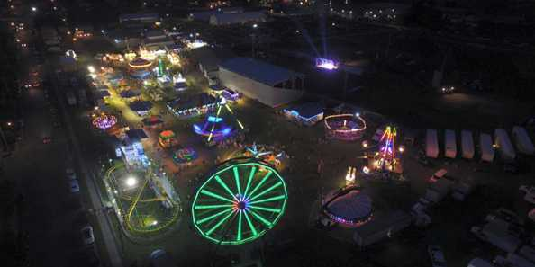 Photo Courtesy of NSA Aerial via Sauk County Fair
