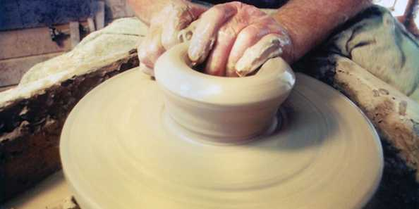 Pottery Demonstration, Spirit of the St. Croix Art Festival, Hudson
