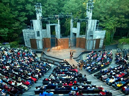 Image for Eight plays in rotating repertory; five in the outdoor amphitheater.