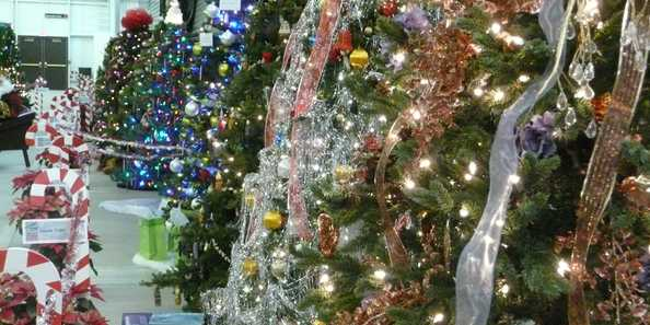 Festival of Trees at the Railroad Museum