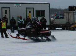 Image for Ashland King of the Bay Snowmobile Drag Races
