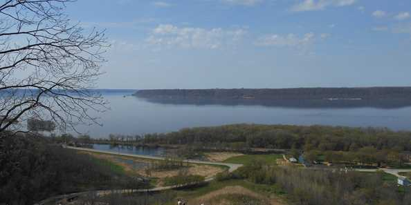 Hiking and Birding Sugar Creek Bluff