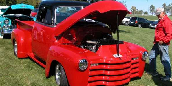 The Audubon Days Car Show attracts a large assortment of car styles.
