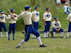 Image for 1870's Base Ball Game