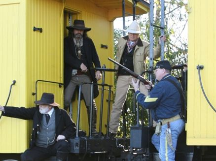 Image for Lumberjack Steam Train Cowboy Reenactment