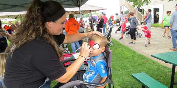 Children's activities abound at Fall Fest.