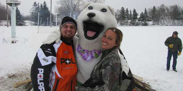 The official Polar Bear of the Plunge