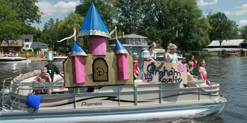 A Boat Parade entry