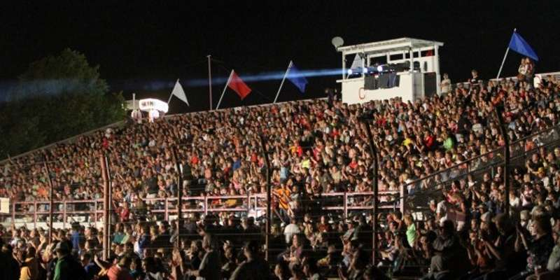 The grandstands are full every night for the national acts that play at the Dodge County Fair