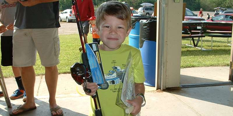 Kids Panfishing Day winner