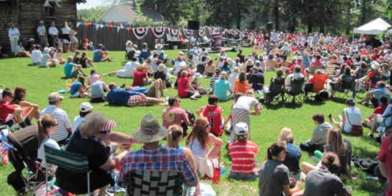 Music on the Green all day at the Madeline Island Museum on the 4th of July. Complete with patriotic speeches, music and 4th of July fun!