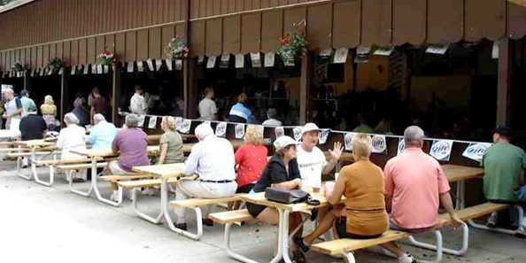 Oktoberfest Outdoor Seating