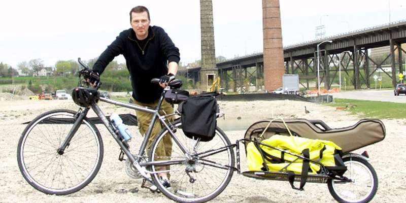 Peter Mulvey's Long Haul Bike Tour